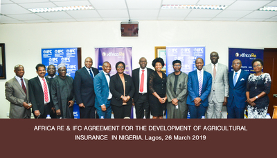 "{:alt=>""Africa Re and IFC to Develop Agricultural Insurance Market in Nigeria""}"